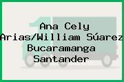 Ana Cely Arias/William Súarez Bucaramanga Santander