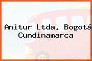 Anitur Ltda. Bogotá Cundinamarca