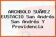ARCHBOLD SUÃREZ EUSTACIO San Andrés San Andrés Y Providencia