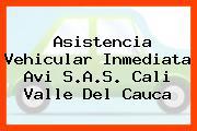 Asistencia Vehicular Inmediata Avi S.A.S. Cali Valle Del Cauca