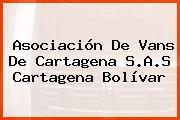 Asociación De Vans De Cartagena S.A.S Cartagena Bolívar