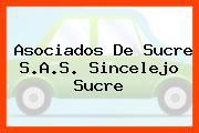Asociados De Sucre S.A.S. Sincelejo Sucre