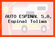 AUTO ESPINAL S.A. Espinal Tolima