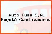 Auto Fusa S.A. Bogotá Cundinamarca