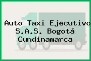 Auto Taxi Ejecutivo S.A.S. Bogotá Cundinamarca