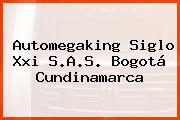 Automegaking Siglo Xxi S.A.S. Bogotá Cundinamarca