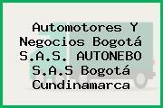 Automotores Y Negocios Bogotá S.A.S. AUTONEBO S.A.S Bogotá Cundinamarca
