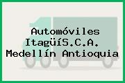 Automóviles ItagüíS.C.A. Medellín Antioquia