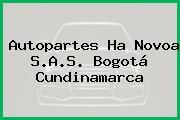 Autopartes Ha Novoa S.A.S. Bogotá Cundinamarca