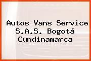 Autos Vans Service S.A.S. Bogotá Cundinamarca