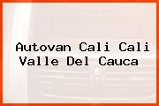 Autovan Cali Cali Valle Del Cauca