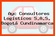 Ayc Consultores Logísticos S.A.S. Bogotá Cundinamarca