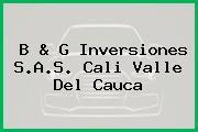 B & G Inversiones S.A.S. Cali Valle Del Cauca