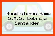 Bendiciones Sama S.A.S. Lebrija Santander