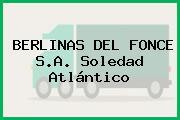 BERLINAS DEL FONCE S.A. Soledad Atlántico