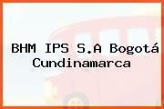 BHM IPS S.A Bogotá Cundinamarca