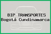 BIP TRANSPORTES Bogotá Cundinamarca