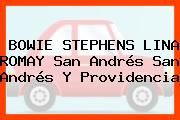 BOWIE STEPHENS LINA ROMAY San Andrés San Andrés Y Providencia