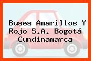 Buses Amarillos Y Rojo S.A. Bogotá Cundinamarca