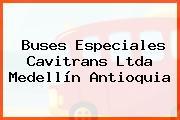 Buses Especiales Cavitrans Ltda Medellín Antioquia