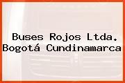 Buses Rojos Ltda. Bogotá Cundinamarca