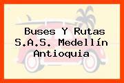 Buses Y Rutas S.A.S. Medellín Antioquia