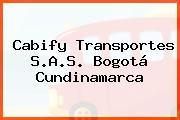 Cabify Transportes S.A.S. Bogotá Cundinamarca
