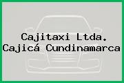 Cajitaxi Ltda. Cajicá Cundinamarca