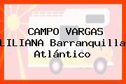 CAMPO VARGAS LILIANA Barranquilla Atlántico