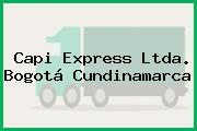 Capi Express Ltda. Bogotá Cundinamarca