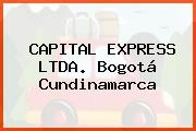 CAPITAL EXPRESS LTDA. Bogotá Cundinamarca