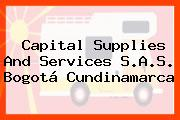 Capital Supplies And Services S.A.S. Bogotá Cundinamarca