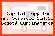 Capital Supplies And Services S.A.S. Bogotá Cundinamarca