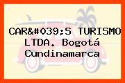 CAR'S TURISMO LTDA. Bogotá Cundinamarca