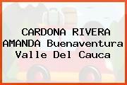 CARDONA RIVERA AMANDA Buenaventura Valle Del Cauca