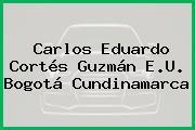 Carlos Eduardo Cortés Guzmán E.U. Bogotá Cundinamarca