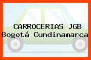 CARROCERIAS JGB Bogotá Cundinamarca