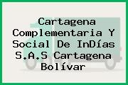 Cartagena Complementaria Y Social De InDías S.A.S Cartagena Bolívar