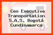 Ceo Executive Transportation S.A.S. Bogotá Cundinamarca