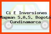 Ci E Inversiones Magman S.A.S. Bogotá Cundinamarca