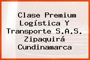 Clase Premium Logística Y Transporte S.A.S. Zipaquirá Cundinamarca