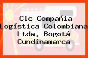 Clc Compañia Logística Colombiana Ltda. Bogotá Cundinamarca