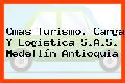 Cmas Turismo, Carga Y Logistica S.A.S. Medellín Antioquia
