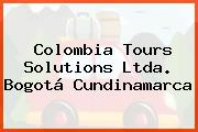 Colombia Tours Solutions Ltda. Bogotá Cundinamarca