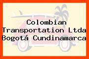 Colombian Transportation Ltda Bogotá Cundinamarca
