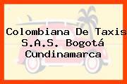 Colombiana De Taxis S.A.S. Bogotá Cundinamarca