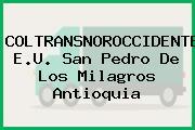 COLTRANSNOROCCIDENTE E.U. San Pedro De Los Milagros Antioquia