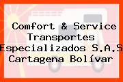 Comfort & Service Transportes Especializados S.A.S Cartagena Bolívar