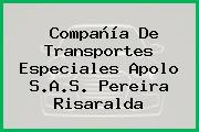 Compañía De Transportes Especiales Apolo S.A.S. Pereira Risaralda