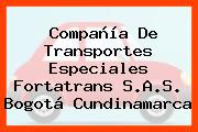 Compañía De Transportes Especiales Fortatrans S.A.S. Bogotá Cundinamarca